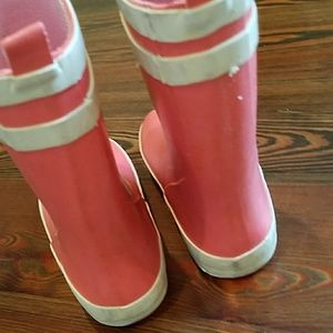 Cat & Jack Shoes - Toddler girls rubber boots - Cat & Jack (pink)